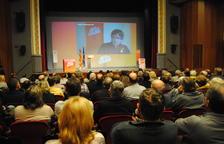 """Puigdemont: """"Si governa el 'tripartit de la por', el 155 serà només un joc de nens"""""""