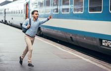 Ser puntual per no perdre el tren