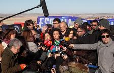 Rovira denuncia des d'Estremera que Junqueras segueixi a la presó i demana més democràcia