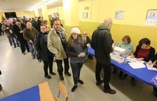 La participació a les 18.00 hores a Lleida puja més de cinc punts