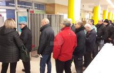 Obren amb cues els col·legis electorals de Lleida