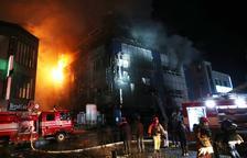 Al menos 29 muertos en Corea en el incendio de un centro comercial