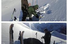 Analitzen la neu del Sobirà pel risc d'allaus