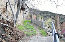 Urbanizan y mejoran la calle Major de Calbinyà