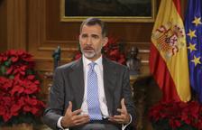 El rei rebaixa el to sobre Catalunya i demana serenitat i evitar un nou enfrontament
