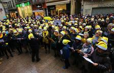 Nadales per reclamar la llibertat de Forn, Junqueras i els Jordis a tot Catalunya