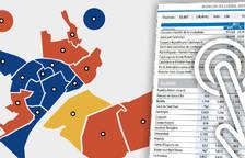 21D. Así votó la ciudad de Lleida