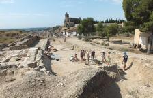 Excavacions d'estiu al Castell Formós de Balaguer.