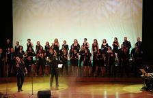 El cor Veus.kat versiona temes nadalencs a Artesa de Lleida