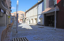 Ultiman las obras de reforma de la calle Ciutat de Lleida