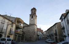 La iglesia de La Granja recupera las misas tras nueve meses cerrada