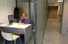 El viver d'empreses de l'Alta Ribagorça, per complet per primera vegada des de la seua inauguració