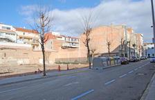 Obras para habilitar un parking en Crist Rei