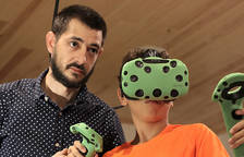 Marc Montserrat: «El cervell busca el contacte extern per verificar la seva pròpia existència»