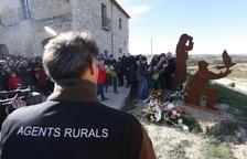 Familias y agentes rurales recuerdan a sus compañeros fallecidos hace un año