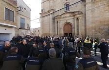 Los rurales piden más protección en el tributo a los agentes asesinados en Aspa