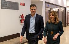 """Sánchez firma la pau amb Díaz i diu que """"remem en la mateixa direcció"""""""