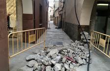 Agramunt reforma un dels carrers més antics