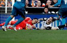 El Madrid frena la caiguda