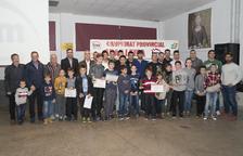 Almenar va acollir la gala del motociclisme lleidatà