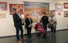 Edith Schaar inaugura exposició a Juneda