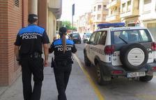 Detingut un jove per conduir sense carnet i xocar amb sis cotxes a Blanes