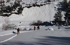 La Vall de Boí grava un vídeo turístic d'hivern