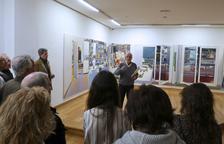 Ureña expone en Bilbao sus acuarelas 'gigantes'