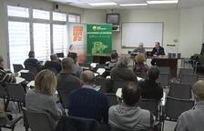 Debate sobre los retos agrarios en Bellcaire