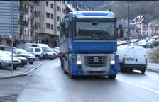 La restricció als camions a França s'allargarà fins al mes de març