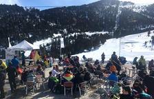 Degustació de caragols a 2.200 metres d'altitud a Espot Esquí