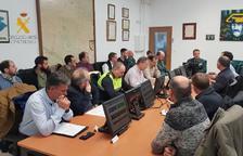 Policies locals de Fraga i Tamarit debaten la millora de la seguretat