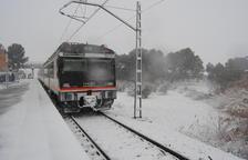 Averías en la línea de tren de Manresa y el AVE reduce la velocidad