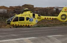 Mor un motorista de 70 anys en una sortida de via a la C-26 a Navès