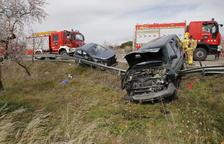 Muere un vecino de Llardecans de 59 años en un accidente en la C-12