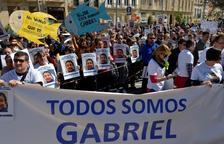 """Los padres de Gabriel piden """"un poco más para hallarle"""""""