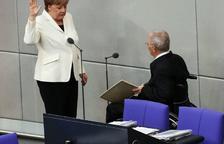 Merkel inicia su cuarto mandato tras el voto favorable del Bundestag alemán