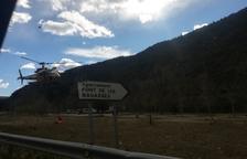 Ferit greu al caure 40 metres un escalador a Àger