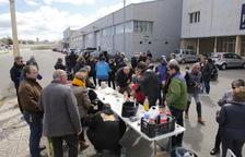 Vermut republicano a pie de la N-240 en Les Borges Blanques