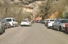 Nuevo parking de 82 plazas en Sant Esteve con un bus lanzadera a Mont-rebei
