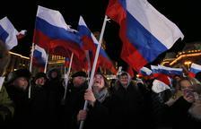 Putin guanya amb més del 75% de vots i serà president fins al 2024