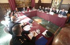 La reunió de la Junta Local de Seguretat de Lleida