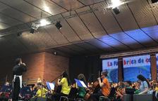 Uns 400 alumnes al 'Cantem' a Bellvís