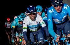 Valverde sigue líder tras una etapa con final en Torrefarrera