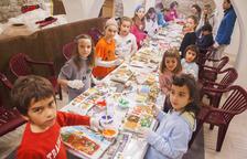 Guinovart i Viladot, als tallers infantils d'Agramunt
