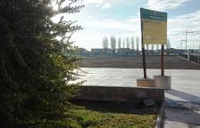 El Palau d'Anglesola habilita un parc caní al polígon industrial