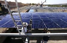 L'Algerri-Balaguer ja omple basses de regadiu amb energia solar