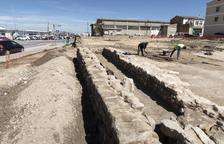 Hallan un edificio de la época imperial romana en Guissona