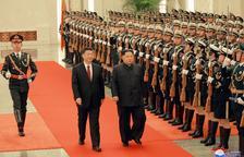 Kim Jong-un prepara con el presidente chino la cumbre de mayo con EEUU y Corea del Sur