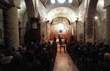 Quartet de violes en el 'Romanic Musicau' a Santa Maria d'Arties